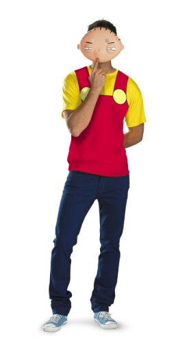 Disguise Family Guy - Stewie Alternative T-Shirt & Mask Costume (42-46)