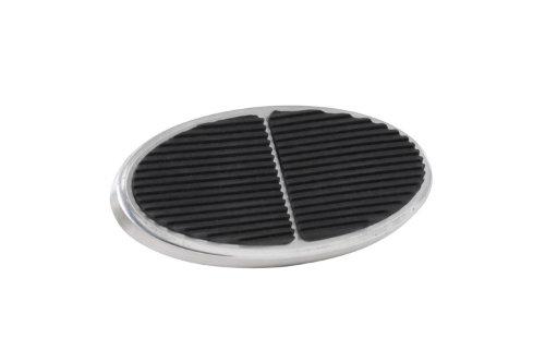 Lokar BAG-6108 XL Oval Billet Aluminum Brake Pad by Lokar