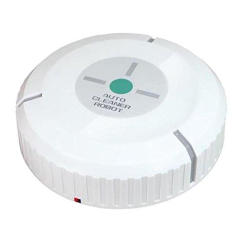 Automatic Robotic Dust Vacuum Cleaner (White) - 6