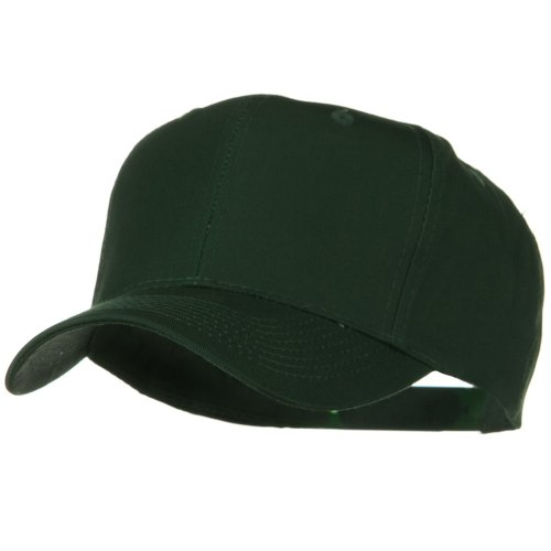 Panel Pro Style Twill Cap (Solid Cotton Twill Pro Style Cap - Dark)