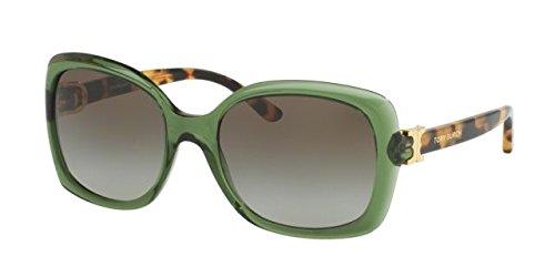 Tory Burch Women's 0TY7101 Tortoise/Green Gradient - Sunglasses Case Tory Burch