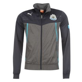 2013-14 Newcastle Puma Walkout Jacket (Black) - Kids