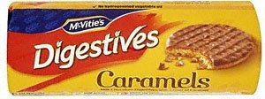 Mcvities Milk Chocolate Caramel Digestives 267g (Pack of 2) ()