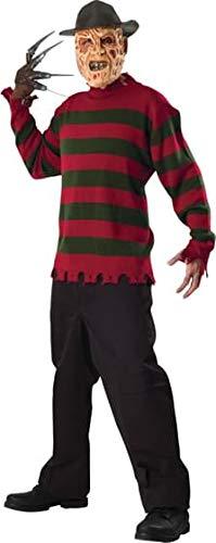 Rubie's Costume Co Freddy Deluxe Knit Sweater Costume, Standard, Standard -