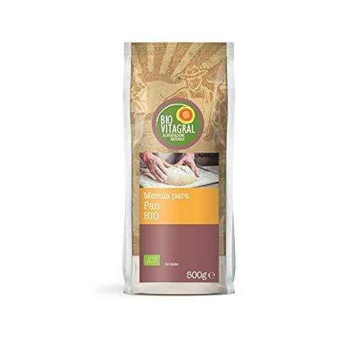 Preparado para Pan Sin Gluten Biovitagral 500gr: Amazon.es ...