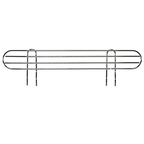 AKRO-MILS AWLEDGE24 - Ledge for 24-Inch Chrome Wire Shelf System - Pack of 4 by Akro-Mils