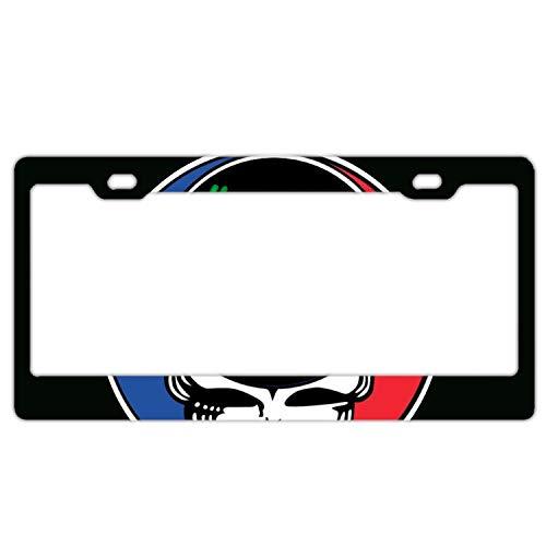 black36 Have A Grateful Day Grateful Dead Chrome License Plate Frame