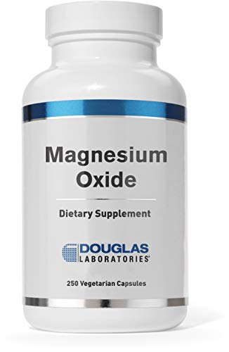 - Douglas Laboratories - Magnesium Oxide - Supports Normal Heart Function and Bone Formation* - 250 Capsules