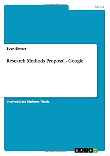 research methods proposal