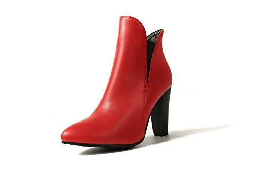 Balamasa Balamasaabl09985 - Sandales Compensées Pour Femmes, Rouge (rouge), 35 Eu