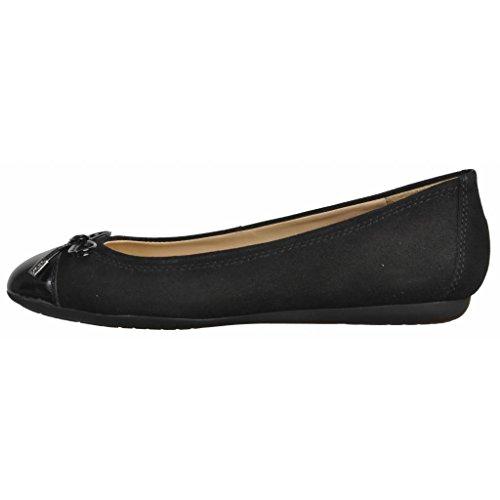 Zapatos bailarina para mujer, color Negro , marca GEOX, modelo Zapatos Bailarina Para Mujer GEOX D LOLA A Negro Negro
