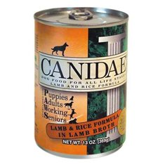 Canidae Lamb and Rice Dog Food 13oz Can