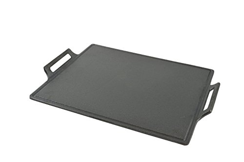 Steven Raichlen Best of Barbecue 14-Inch by 11.88-Inch Cast Iron (Plancha Grill)