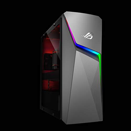 ROG GL10DH-DHR752 Gaming Desktop PC, AMD RYZEN 7 2700, GeForce GTX 1650, 16GB DDR4 RAM, 256GB SSD + 1TB 7200RPM HDD, Wi-Fi 5, Windows 10