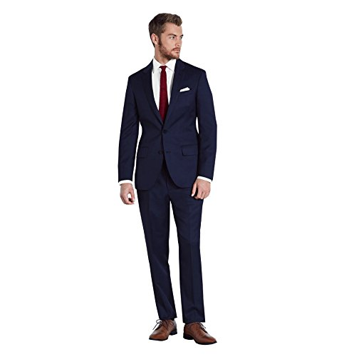 New Kelaixiang Men's Two Button Slim Fit Solid Suit Wedding Suit free shipping