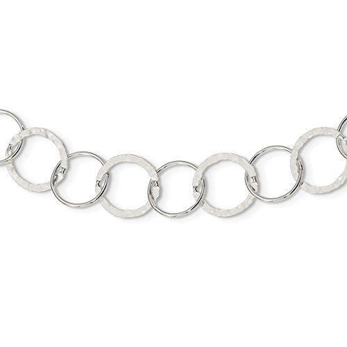 ICE CARATS 925 Sterling Silver Circle Cuban Link Chain Necklace Fancy Fine Jewelry Ideal Gifts For Women Gift Set From Heart