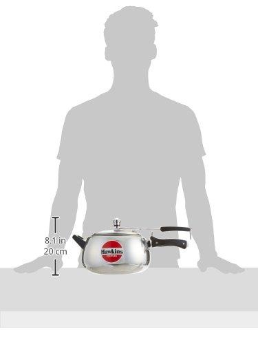 Small Aluminum Hawkins HC50 Contura 5-Liter Pressure Cooker