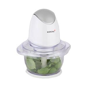 Korona 25000 picadora eléctrica de Alimentos - picadoras eléctricas de Alimentos (Transparente, Color Blanco) 26