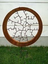 Jardín Inspiration Símbolo de la suerte Jardín Conector Bancal ...