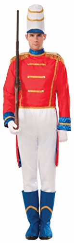 Christmas Drummer Boy Costumes - Forum Men's Toy Soldier Costume, Multi, One Size