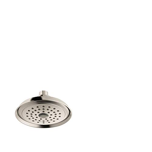 hansgrohe Joleena 6-inch Transitional 1-Spray Full in Brushed Nickel, 04780820 Showerhead