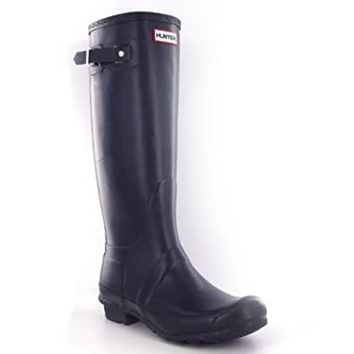 Hunter Original Navy Womens Boots Size 7 US