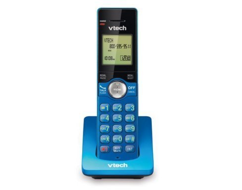 VTech CS6909-15 Accessory Cordless Handset for VTech CS6919 or CS6929 Series Cordless Phone Systems, Blue by VTech