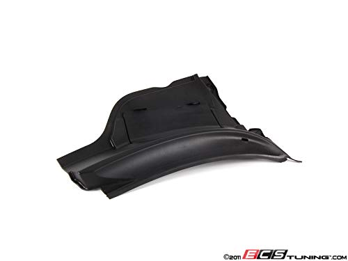 (MINI R55 R56 R57 COOPER PASSENGER RIGHT WINDSHIELD COWL COVER GENUINE OEM 07-14)
