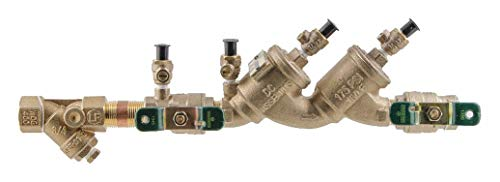 (WATTS Double Check Valve Assembly, Copper Silicon Alloy, Watts 719 Series, FNPT Connection)