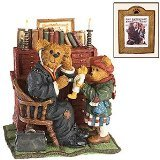Boyds Bears Norman Rockwell Bearstone Figurine (Doctor and the Doll) 4017978