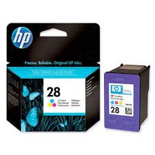 HP Brand Name 28 Tricolor Inkjet Print CTG for PSC2110 1210 190 YLD C8728AN