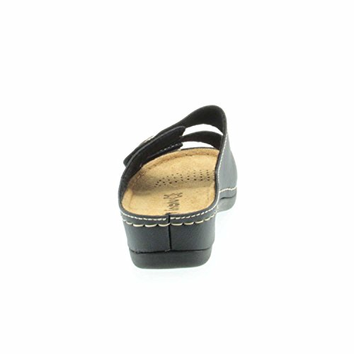 Quick-Schuh 1000516 - Zuecos para mujer 014°Schwarz