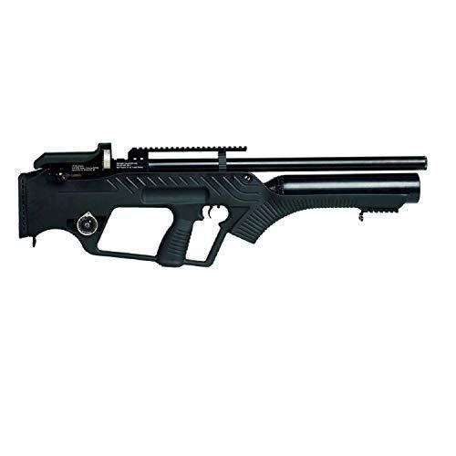 (Hatsan Bullmaster 22 - Semi Auto PCP Rifle, Black)