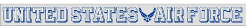 (Mitchell Proffitt United States Air Force Wing Logo - Window Strip Decal)