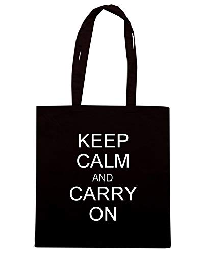 CALM KEEP Shirt Speed Shopper Borsa OK Nera CARRY TKC1312 AND xSpBY6qw