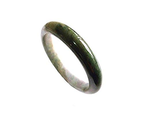 - KARATGEM Natural Jadeite Jade Bangle Bracelet from US Warehouse (Inner Size 58-60 mm)