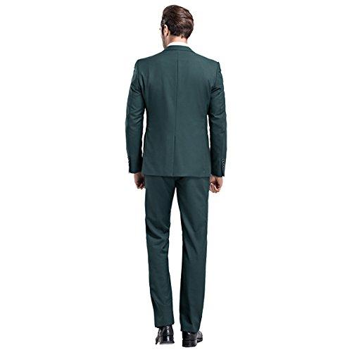 Costume Vert Male Foncé Mage Homme Pour Bq5Ax
