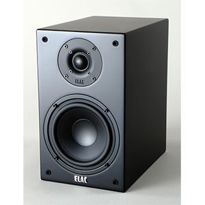 Elac BS73 Bookshelf Speakers- Black Satin (Pair)