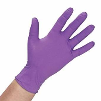 HALYARD PURPLE NITRILE-EXTA GLOVES Exam Gloves, Purple Nitrile-Extra, X-Small, 50/bx 10bx/cs