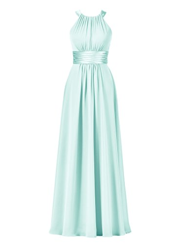 Buy light blue and green prom dresses - 5