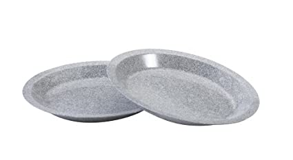 Nordic Ware Microwave Dinner Plates 9 Inch Set of 2  sc 1 st  Amazon.com : 9 inch dinner plate set - pezcame.com