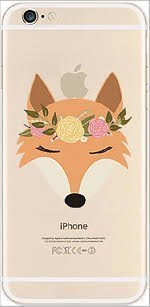 iPhone 6 Case, DECO FAIRY® Protective Case Bumper[Scratch-Resistant] [Perfect Fit] Ultra Slim Translucent Silicone Clear Case Gel Cover for Apple iPhone 6 (fox (One Direction 5sos Iphone 6 Case)
