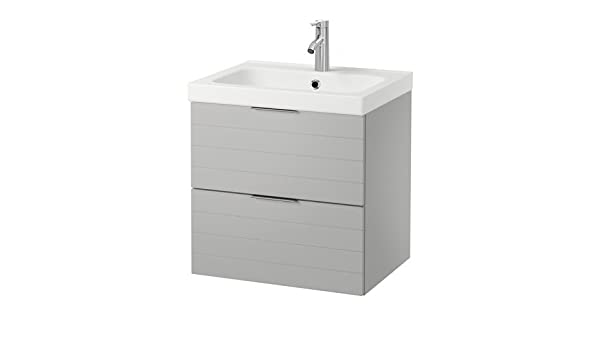 Ikea - Armario para Fregadero con 2 cajones, Color Gris Claro 23 5 ...