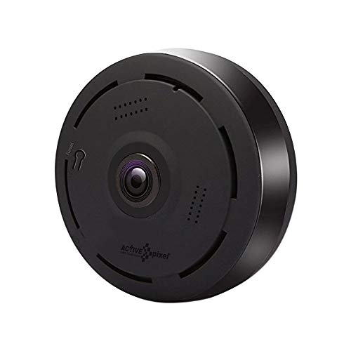 Active Pixel Wireless WiFi 360 Degree Fisheye Super HD View Panoramic IP 2MP CCTV Security Camera IR Night Vision Motion Detection Price & Reviews