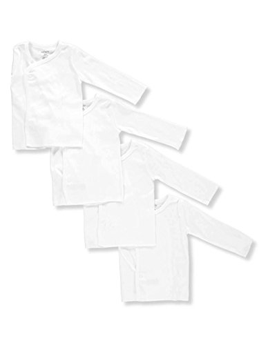 Carter\'s Unisex Baby 4-Pack L/S Side Snaps Shirts