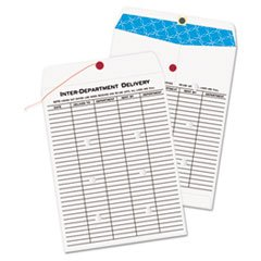 White Kraft Interoffice Envelope, 10 X 13, 100/box By: Quality Park