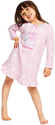 Peppa Pig Nightgown For Toddlers - Soft & Warm Sleepwear - Pink PJ