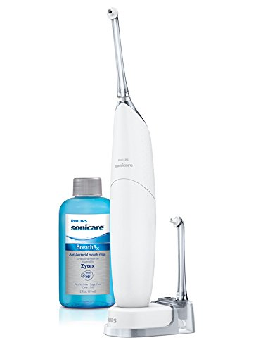 New and Improved Philips Sonicare Airfloss Ultra, Silver, Standard Packaging (Philips Sonicare Airfloss Pro Rechargeable Electric Flosser Pink)