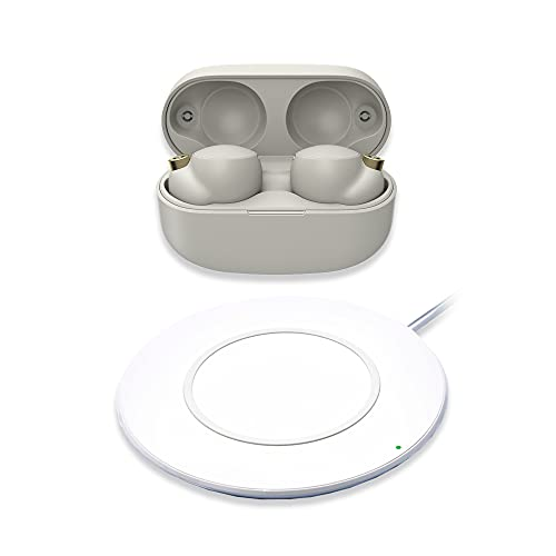 Sony WF-1000XM4 Industry Leading Noise Cancelling Truly Wireless Earbuds Headphones, Wireless Charging, Splash proof And…