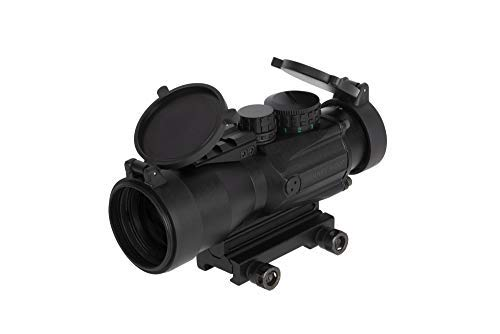 Primary Arms 5x36 Compact Prism Rifle Scope (Gen II) Illuminated ACSS CQB 2.23 \ 5.45x39 \ .308 Reticle with Removable Spacer and Picatinny Top Rail